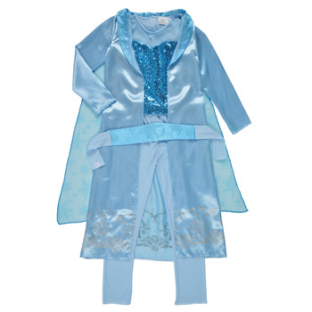 material Girl Fancy Dress Fun Costumes COSTUME ENFANT PRINCESSE DES NEIGES Multicolour