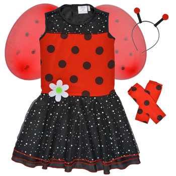 material Girl Fancy Dress Fun Costumes COSTUME ENFANT BIRDIE BEETLE Multicolour