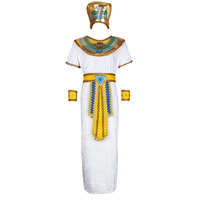 material Men Fancy Dress Fun Costumes COSTUME ADULTE IMHOTEP Multicolour