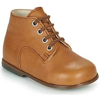 Shoes Girl High top trainers Little Mary MILOTO Brown
