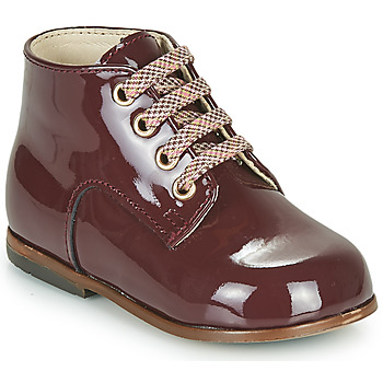 Shoes Girl High top trainers Little Mary MILOTO Bordeaux