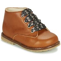 Shoes Girl High top trainers Little Mary JUDITE Brown