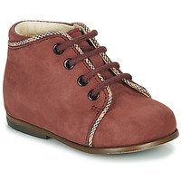 Shoes Girl High top trainers Little Mary MEGGIE Bordeaux
