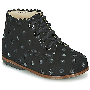 Shoes Girl High top trainers Little Mary VIVALDI Black