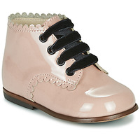 Shoes Girl High top trainers Little Mary VIVALDI Pink