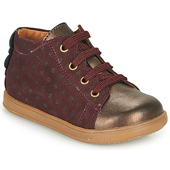 Shoes Girl Low top trainers Little Mary CLELIE Bordeaux