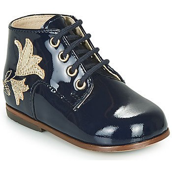 Shoes Girl High top trainers Little Mary MEIGE Blue