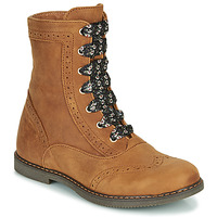 Shoes Girl Mid boots Little Mary LYSIANE Brown