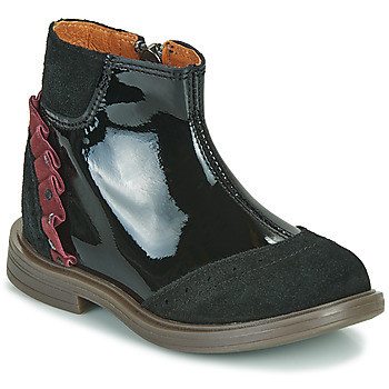 Shoes Girl Mid boots Little Mary ELSIE Black