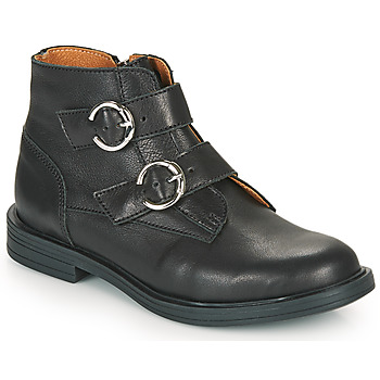 Shoes Girl Mid boots Little Mary EMILIENNE Black