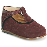 Shoes Girl High top trainers Little Mary BETHANY Bordeaux