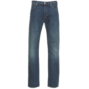 material Men straight jeans Levi's 501 THE ORIGINAL Blue / Dark