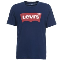 material Men short-sleeved t-shirts Levi's GRAPHIC SET IN Marine