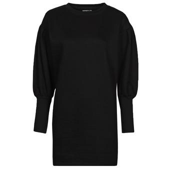 material Women Short Dresses Yurban OKAL Black