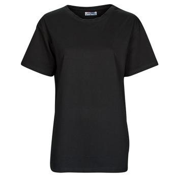 material Women short-sleeved t-shirts Yurban OKIME Black