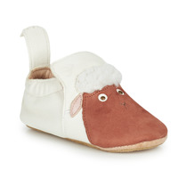 Shoes Children Slippers Easy Peasy BLUBLU MOUTON White