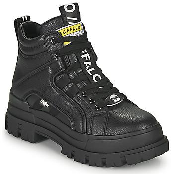 Shoes Women Mid boots Buffalo ASPHA NC MID Black