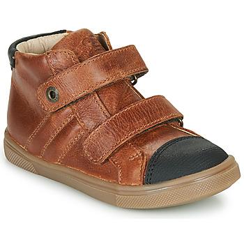 Shoes Boy High top trainers GBB KERWAN Brown