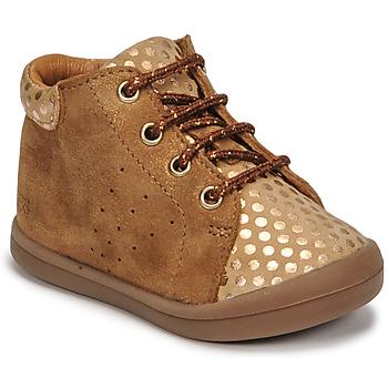 Shoes Girl High top trainers GBB NAHIA Brown