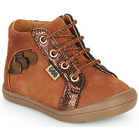 Shoes Girl High top trainers GBB PRUNE Brown