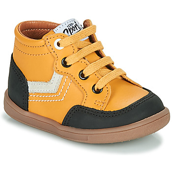 Shoes Boy High top trainers GBB VIGO Yellow
