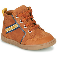 Shoes Boy High top trainers GBB GERMAIN Brown