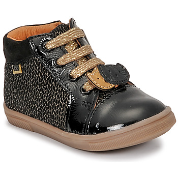 Shoes Girl High top trainers GBB CHOUBY Black