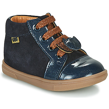 Shoes Girl High top trainers GBB CHOUBY Blue