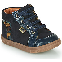 Shoes Girl High top trainers GBB TERRA Blue