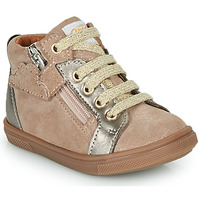 Shoes Girl High top trainers GBB VALA Beige
