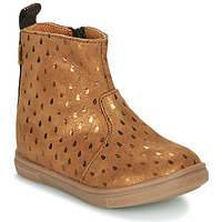 Shoes Girl Mid boots GBB ERNA Brown