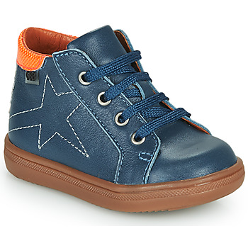 Shoes Boy High top trainers GBB DOMINICO Blue