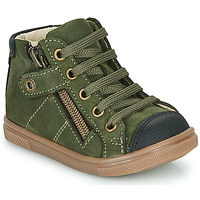 Shoes Boy High top trainers GBB KAMIL Green