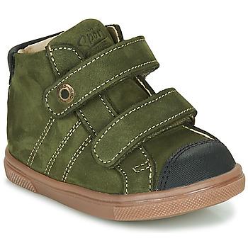 Shoes Boy High top trainers GBB KERWAN Green