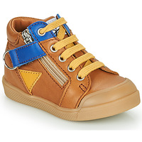 Shoes Boy High top trainers GBB TIMOTHE Brown