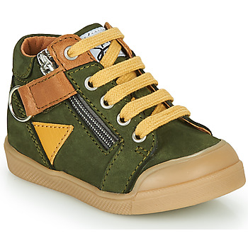 Shoes Boy High top trainers GBB TIMOTHE Green