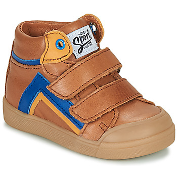 Shoes Boy High top trainers GBB ERNEST Brown