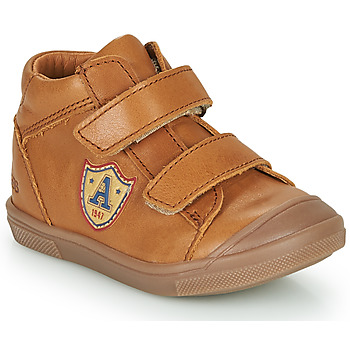 Shoes Boy High top trainers GBB LAUREL Brown