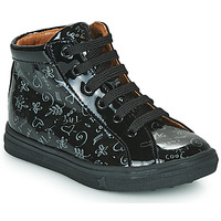 Shoes Girl High top trainers GBB PHILEMA Black