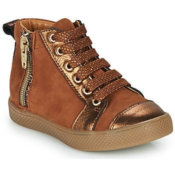 Shoes Girl High top trainers GBB SAVIA Brown