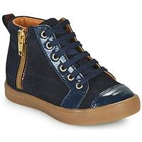 Shoes Girl High top trainers GBB SAVIA Blue