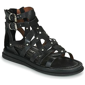 Shoes Women Sandals Airstep / A.S.98 POLA FLASH Black