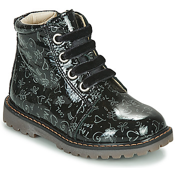 Shoes Girl High top trainers GBB NAREA Black
