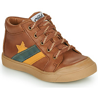 Shoes Boy High top trainers GBB LEON Brown