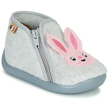Shoes Girl Slippers GBB APOPOTAM Grey