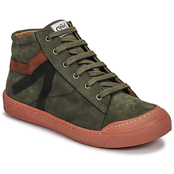 Shoes Boy High top trainers GBB ARNOLD Green