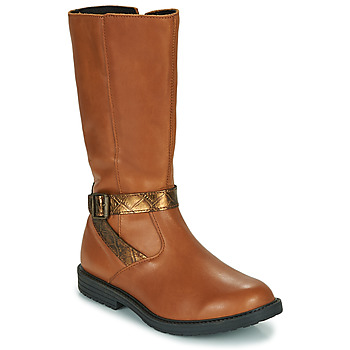 Shoes Girl Boots GBB OKINDI Brown
