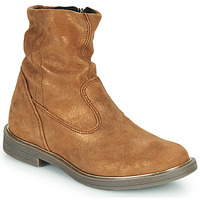 Shoes Girl Mid boots GBB MICKY Brown