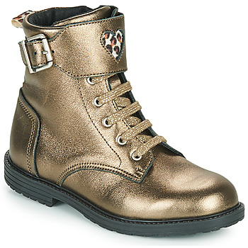 Shoes Girl High top trainers GBB DOZZY Gold