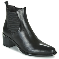 Shoes Women Ankle boots Adige DIVA V1 VEAU GARNET NOIR Black